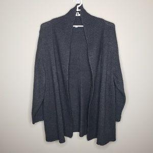 J. Jill Open Front Cardigan Sweater Alpaca Blend